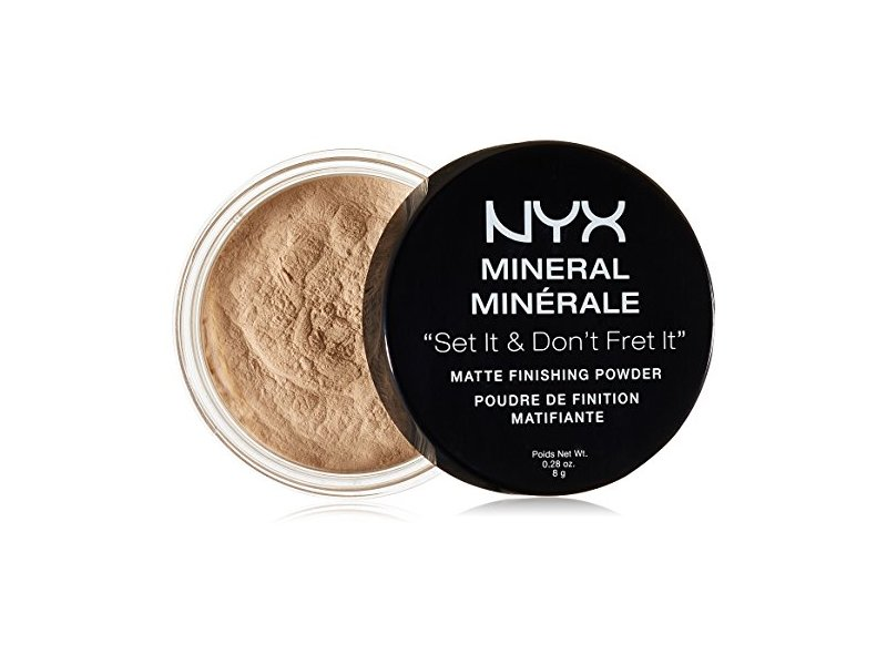 NYX Cosmetics Mineral Finishing Powder, Light/Medium, 0.28 oz