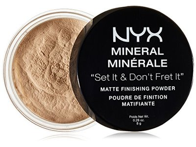 NYX Cosmetics Mineral Finishing Powder, Light/Medium, 0.28 oz - Image 1