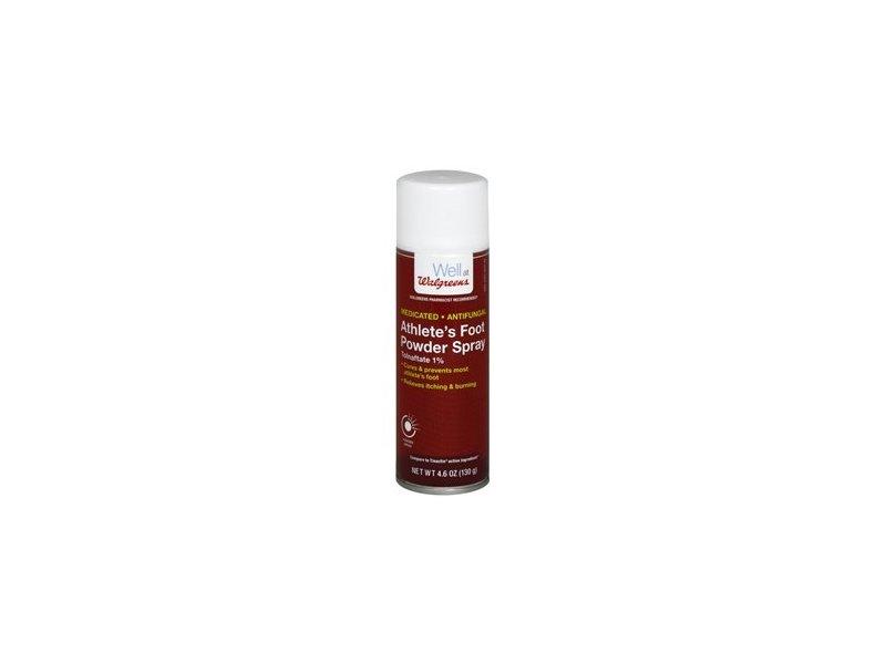 Walgreens Athlete's Foot Antifungal Powder Spray, 4.6 oz