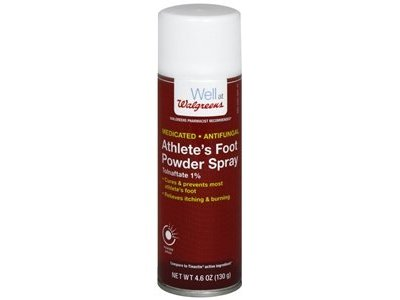 Walgreens Athlete's Foot Antifungal Powder Spray, 4.6 oz