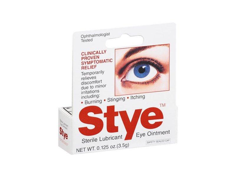 Stye Sterile Lubricant Eye Ointment, 0.125 Oz
