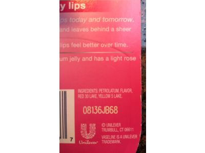 Vaseline Lip Therapy Cocoa Butter 0.25 Ounce(8 Count) - Image 4