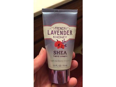 Bath & Body Works French Lavender & Honey Shea Hand Cream, 2.5 Fl Oz/75 Ml - Image 3