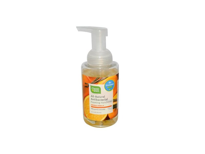Cleanwell All Natural Antibacterial Foaming Hand Wash