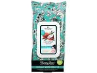 Hunny Bee Coconut Water Honey Infused Facial Wipes, 60 Wipes - Image 2