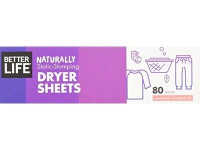 Better Life Dryer Sheets, Lavender Grapefruit, 80 Count, 2422 - Image 5
