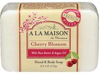 A La Maison, Bar Soap Hand Body Cherry Blossom, 8.8 Ounce - Image 2