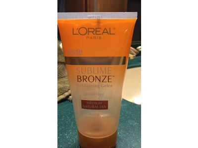L'oreal Dermo-expertise Sublime Bronze Self-tanning Gelee, Medium Natural Tan, 5 Oz (3 Pack) - Image 3