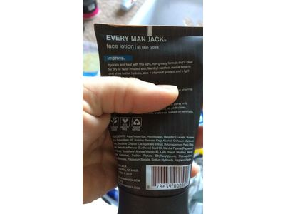Every Man Jack Post Shave Face Lotion, Signature Mint, 4 Oz - Image 4