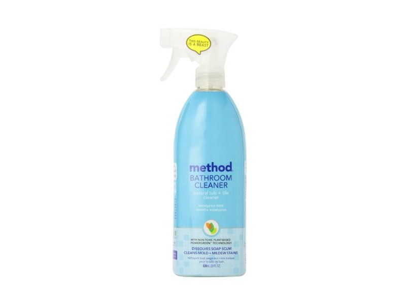 method tub tile cleaner spray eucalyptus mint 28 oz