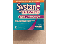 Systane Lid Wipes Eyelid Cleansing Wipes, 32 - Image 3