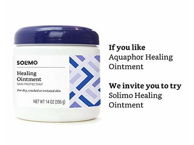 Solimo Healing Ointment Skin Protectant, Fragrance Free, 14 Ounce - Image 4