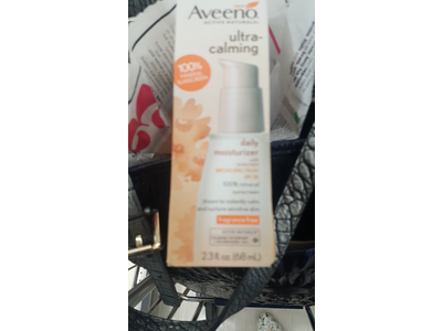 Aveeno Ultra-Calming Daily Moisturizer for Sensitive Skin with SPF 30, 2.3 fl. oz - Image 4
