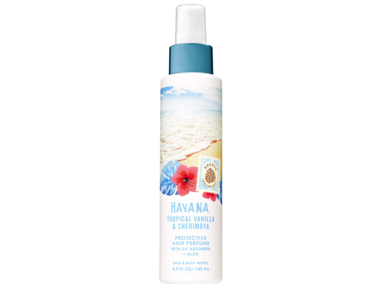 Bath and Body Works Havana Protective Hair Perfume, Tropical Vanilla & Cherimoya, 4.9 fl oz