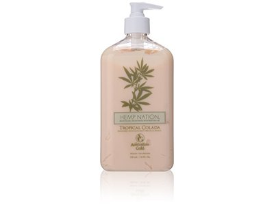 New Sunshine Australian Gold Hemp Nation Tropical Colada Moisturizer, 18 Ounce - Image 1