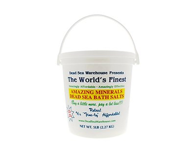 Dead Sea Warehouse Amazing Mineral, Bath Salts, 5 Pound