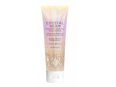 Pacifica Crystal Beam Foaming Crystal Face Scrub, 2.5 fl oz