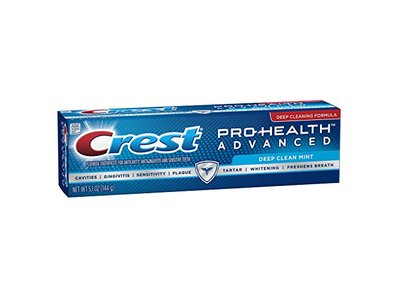 Crest Pro-Health Advanced Deep Clean Mint Toothpaste, 5.1 oz, - Image 4