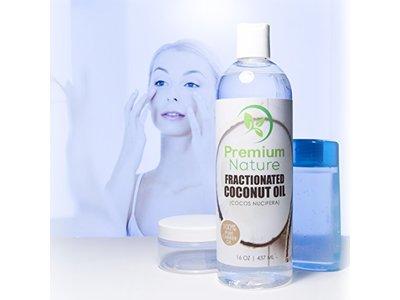 Premium Nature Fractionated Coconut Oil 16 oz, - Image 7