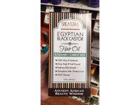 Shea Terra Organics Egyptian Black Castor Hair Oil, Rosemary-Carrot Seed, 8 oz - Image 3