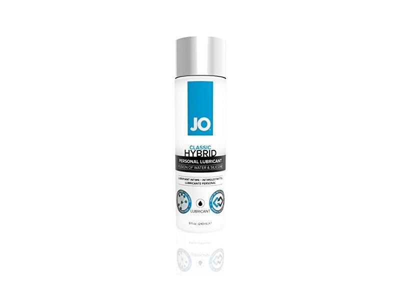 System Jo Hybrid Lubricant, 8 Ounce