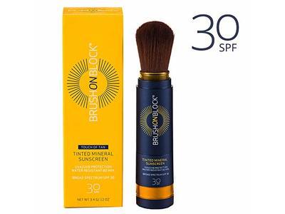 Brush on Block Tinted Mineral Face Sunscreen Powder, SPF 30, 3.4 g/.12 oz