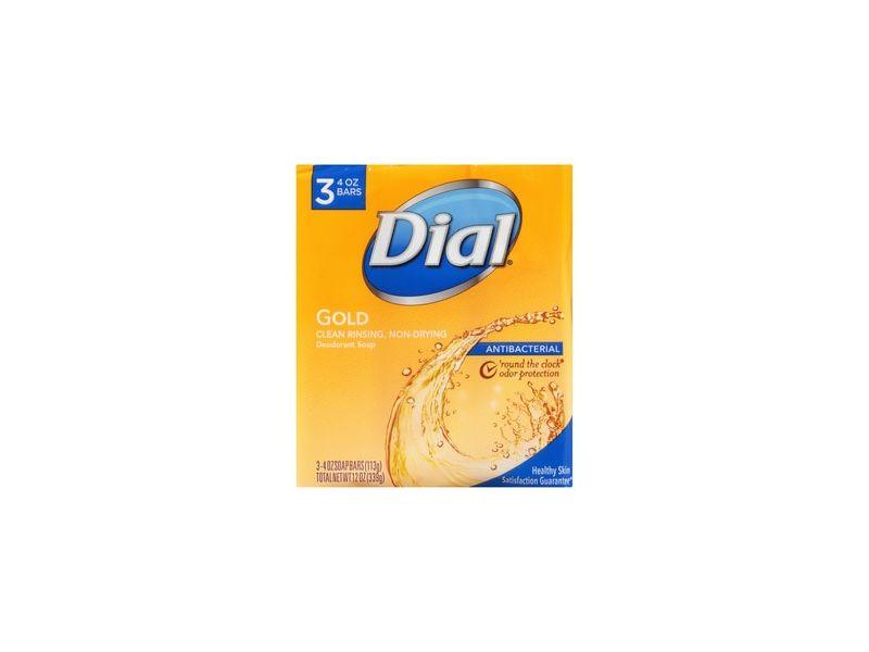 Dial Antibacterial Deodorant Soap Gold