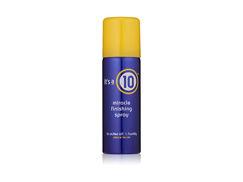 It's a 10 Haircare Miracle Finishing Spray, 1.7 fl. oz.
