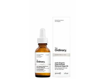 The Ordinary 100% Organic Cold-Pressed Moroccan Argan Oil, 30ml