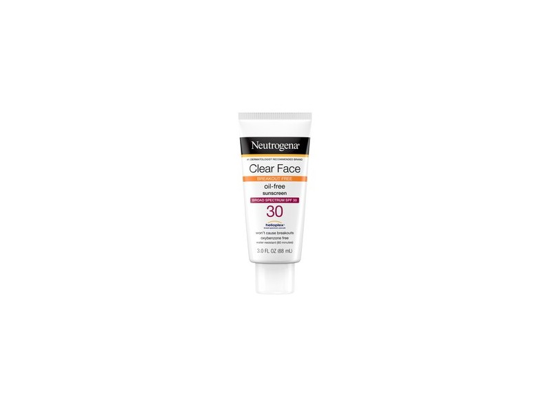 Neutrogena Clear Face Liquid Lotion Sunscreen with SPF 30