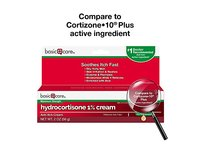 Basic Care Hydrocortisone 1% Cream, Anti-Itch Cream, 2 Ounce - Image 3