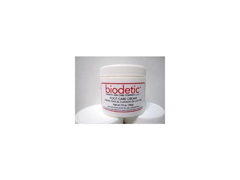 Biodetic Foot Cream, 3.5 oz