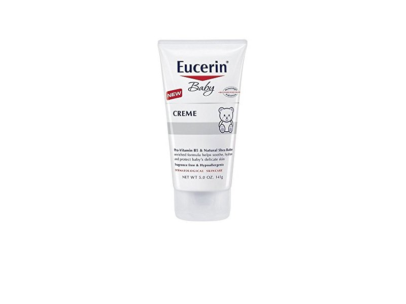 Eucerin Baby Fragrance Free Creme 5 oz. (2 Pack)