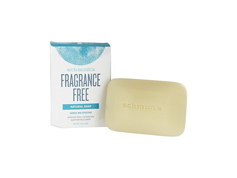 Schmidt's Naturals Bar Soap, Fragrance-Free, 5 oz