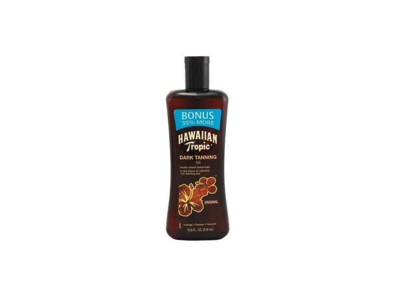 Hawaiian Tropic Dark Tanning Oil, 10.8 fl oz