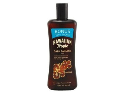 Hawaiian Tropic Dark Tanning Oil, 10.8 fl oz