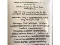 Dermasil Labs Cocoa Butter Moisturizing Body Lotion, 8 fl oz - Image 5