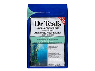 Dr Teal's Deep Marine Sea Mineral Soak, Purify & Hydrate, 3 lbs