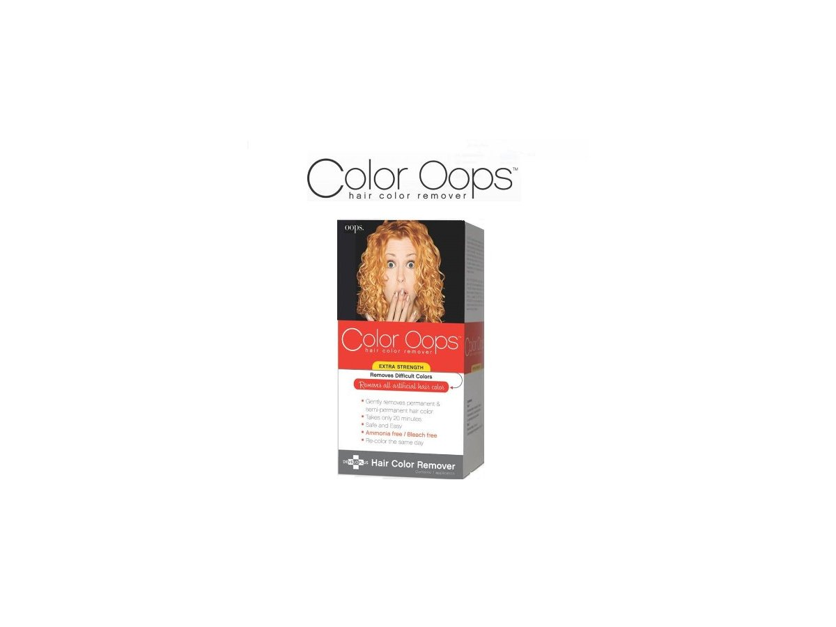 Color Oops First Impression And Review Hair Color Remover