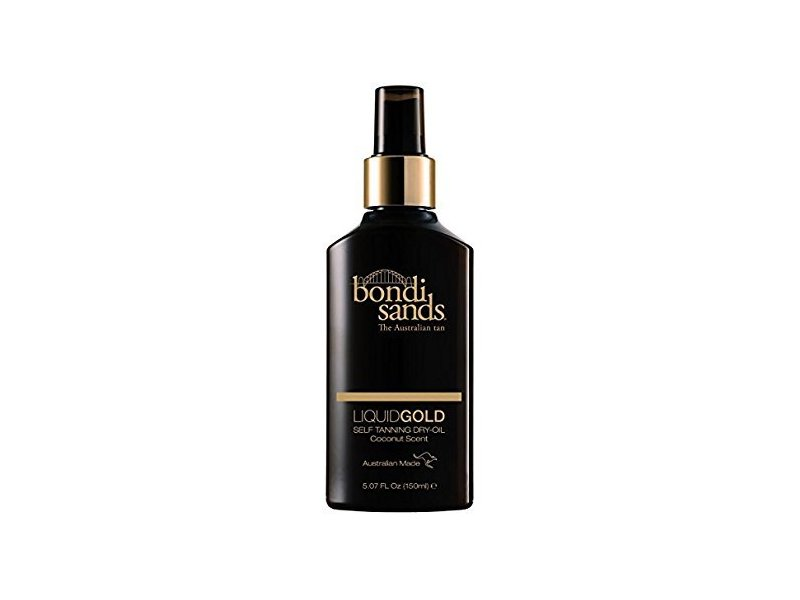 Bondi Sands Liquid Gold Self Tanning Dry-Oil, Coconut Scent, 5.07 fl oz