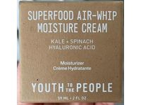 Youth To The People Superfood Air-Whip Moisture Cream, Kale + Spinach, Green Tea, Hyaluronic Acid, 2 fl oz/59 mL - Image 3