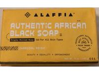 Alaffia Authentic African Black Soap, Charcoal Reishi, Triple Milled, 5 oz/140 g, Pack Of 3 - Image 3