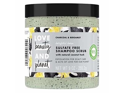 Beauty Planet Delightful Detox Shampoo Scrub, Charcoal & Bergamot, 9 oz