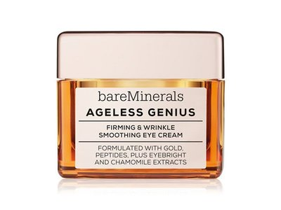 bareMinerals Ageless Genius Firming and Wrinkle Smoothing Eye Cream, 0.5 Ounce - Image 1