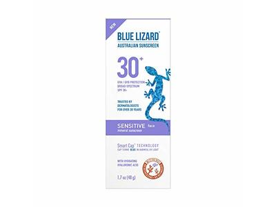 Blue Lizard Australian Sensitive Face Mineral Sunscreen, SPF 30+, 1.7 fl oz - Image 1