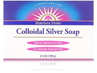 Heritage Store Colloidal Silver Soap, 3.5 oz - Image 1