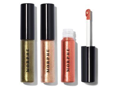 Morphe Metallic Heat Metallic Eyeshadow, 0.22 fl oz (Pack of 3)