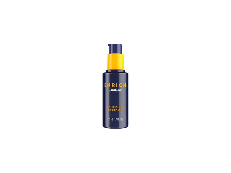 Gillette Enrich Nourishing Beard Oil, 1.7 fl oz