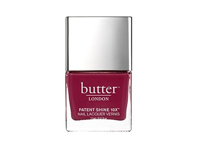 butter LONDON Patent Shine 10X Nail Lacquer, Broody, 0.4 fl. oz.