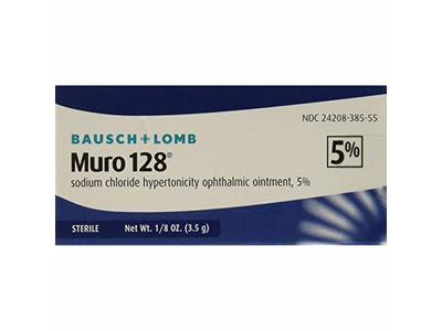 Bausch & Lomb Muro 128 5% Ointment 3.5 g